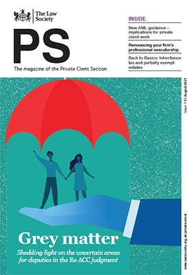 PS magazine cover - August 2021