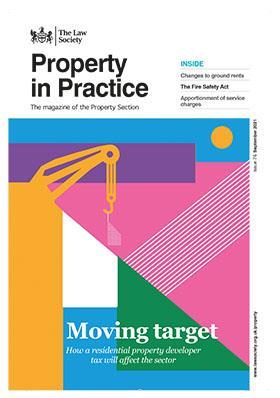 PIP Magazine cover - September 2021