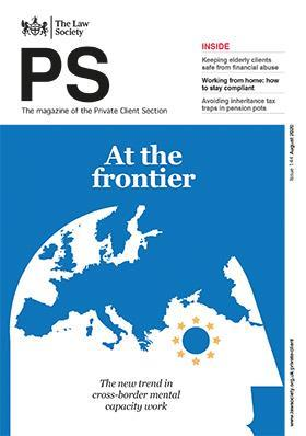 PS magazine cover - August 2020