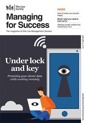Managing for Success magazine cover - April 2021398