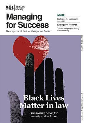 Managing for Success magazine cover - October 2020