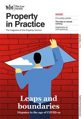 Property in Practice magazine cover - March 2021