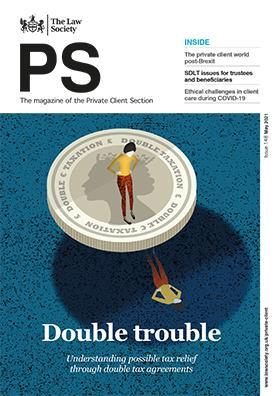PS magazine cover - May 2021