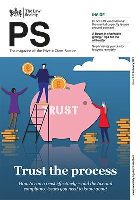 PS magazine cover - February 2021