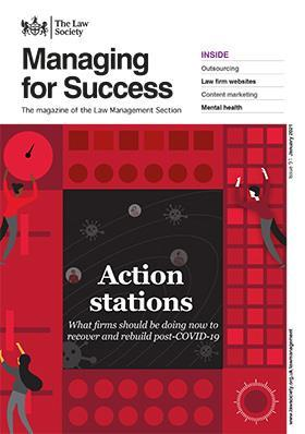 Managing for Success magazine cover - January 2021