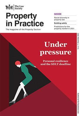 Property in Practice - magazine cover - December 2020