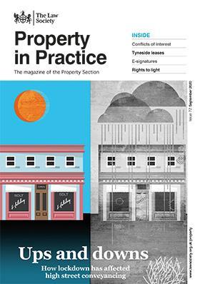 Property in Practice magazine cover - September 2020