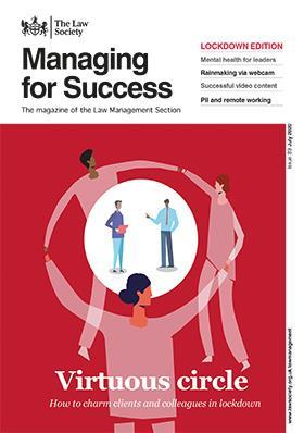 Managing for Success magazine cover - July 2020