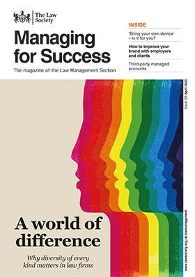 Managing for Success magazine cover - April 2020