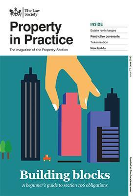 Property in Practice magazine cover - June 2020