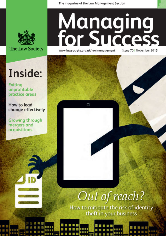 Managing for Success magazine cover November 2015