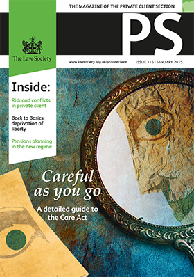 PS magazine cover January 2015