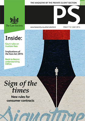 PS magazine cover July 2014