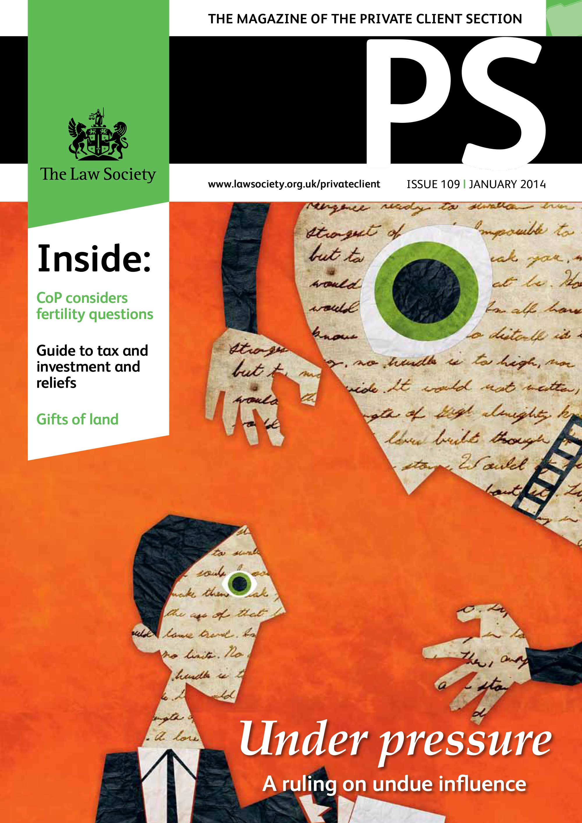 PS January 2014 Cover