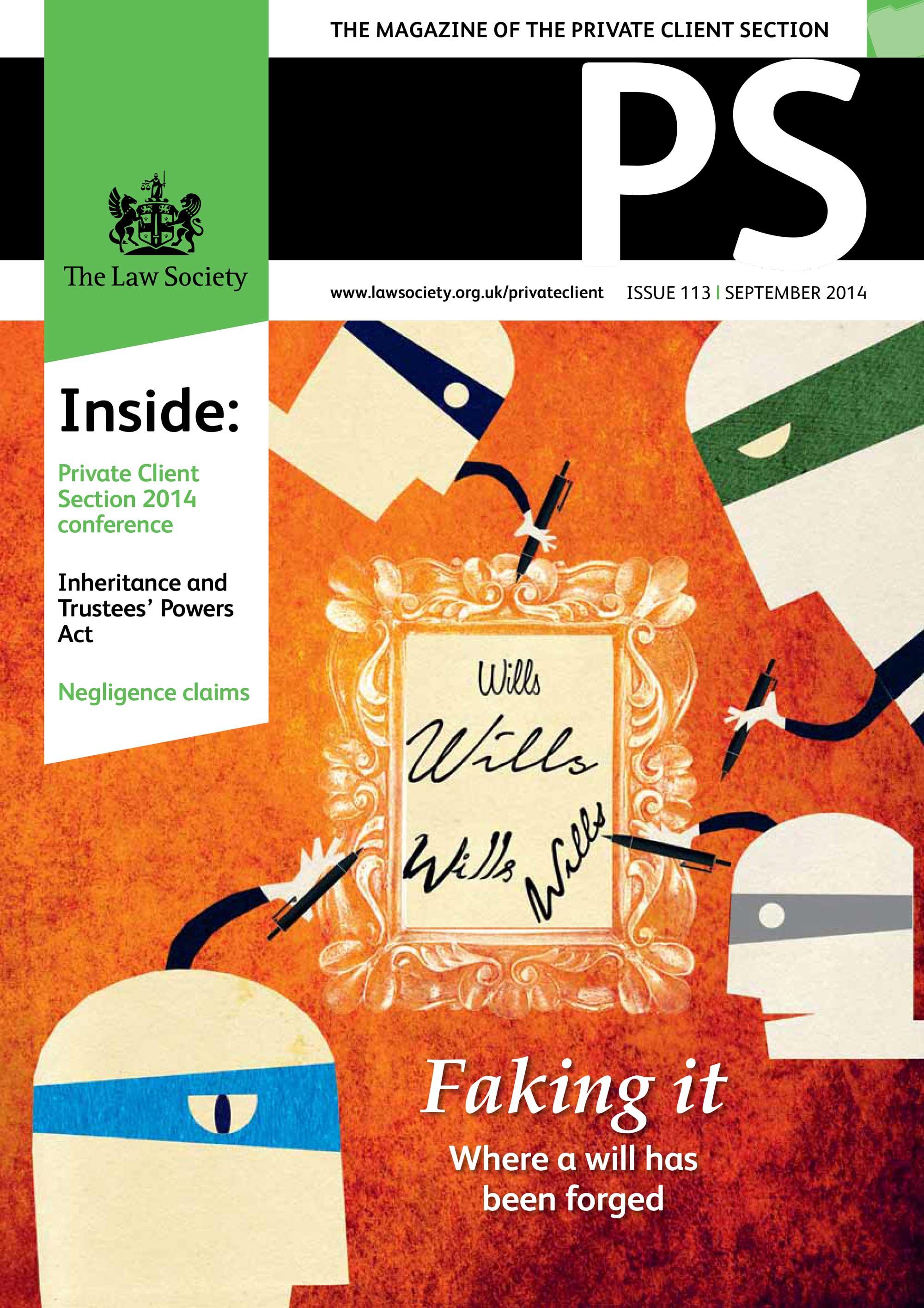 PS September 2014 Cover