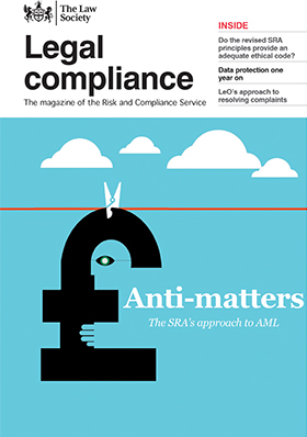Legal Compliance magazine cover - July 2019