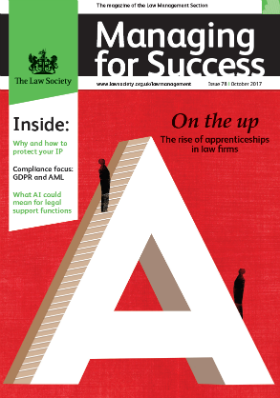 Managing for Success October cover