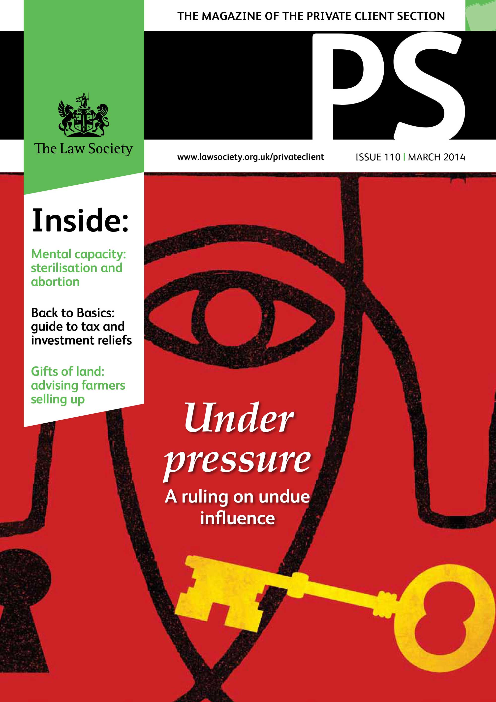 PS March 2014 Cover