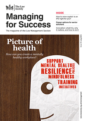 Managing for Success magazine cover - July 2019 - 280x398