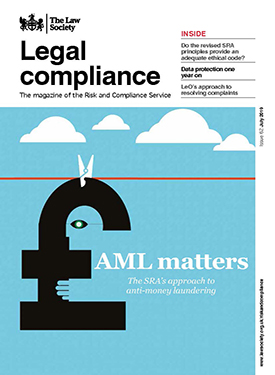 legal compliance magazine