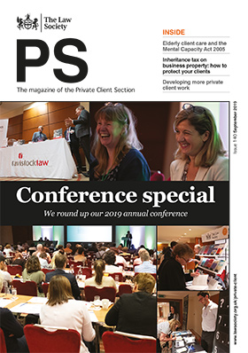 PS magazine cover - September 2019 - conference edition