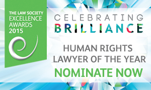 Excellence Awards 2015 - human rights lawyer of the year