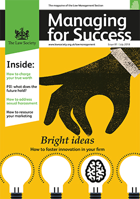 Managing for Success July 2018 magazine cover