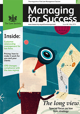 Managing for Success magazine cover - May 2015