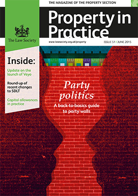 Property in Practice magazine cover - June 2015