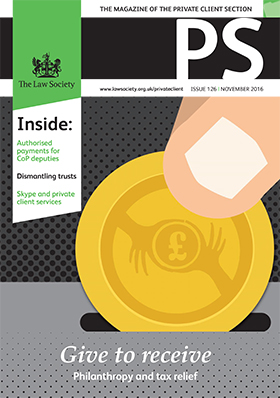 PS magazine cover November 2016