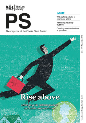PS magazine cover - November 2019