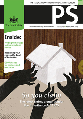 PS February 2019 magazine cover
