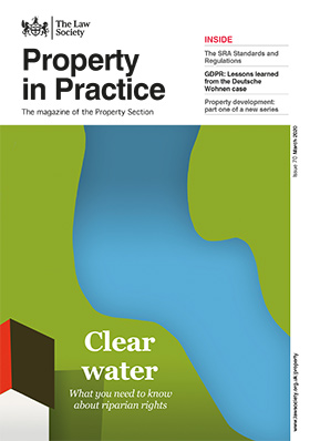Property in Practice magazine cover - March 2020