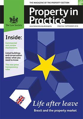 Property in Practice magazine September 2018 cover