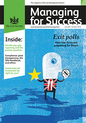 Managing for Success October 2018 cover