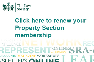 Property Section renewals