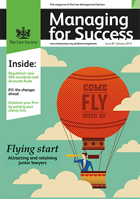 Managing for Success magazine January 2019 cover