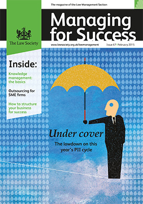 Managing for Success magazine cover February 2015