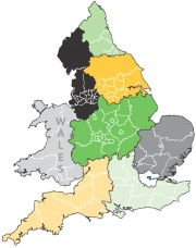 Law+Society regions and Wales