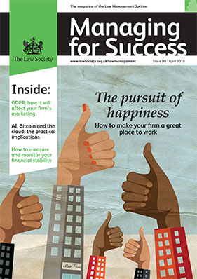 Managing for Success April 2018 cover