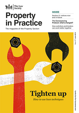 Property in Practice magazine cover - June 2019 - 280x398